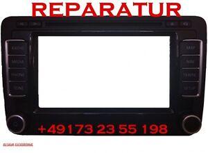 Display bleibt dunkel Reparatur VW RNS 315