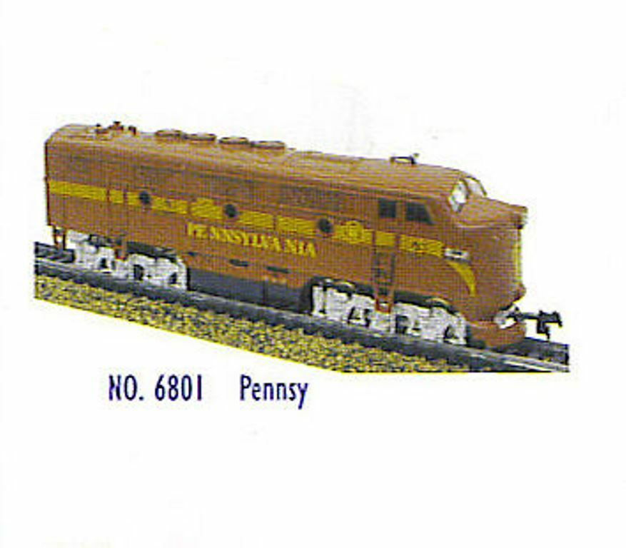 HO TRAINS  PENN  F2-A & F2-B DUMMY  LOCOMOTIVES