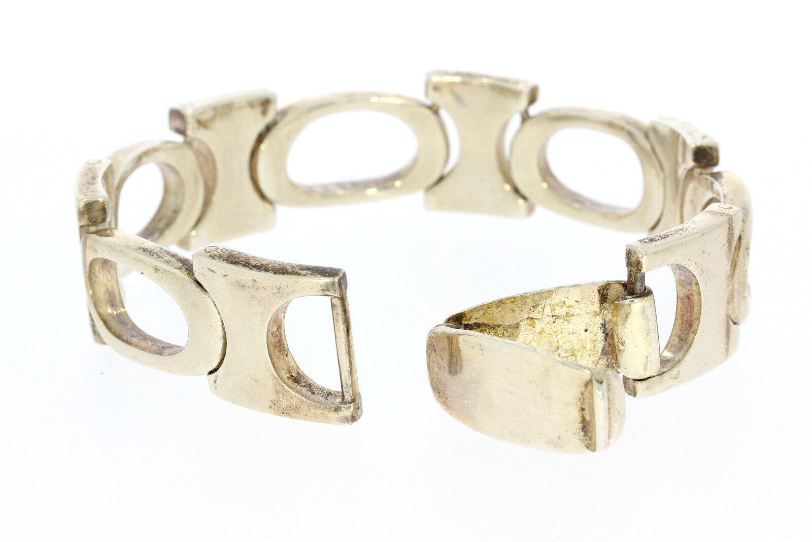 8526-925er argentoo Bracciale lungo 21 cm di larghezza 1 8 8 8 CM peso 78 5 grammi 61415a