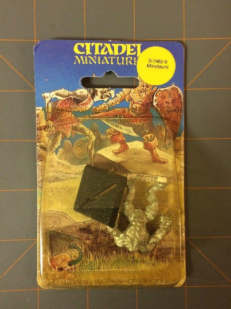 Citadel Miniatures Miniatures Miniatures  MINOTAURS New Sealed bf6ec2