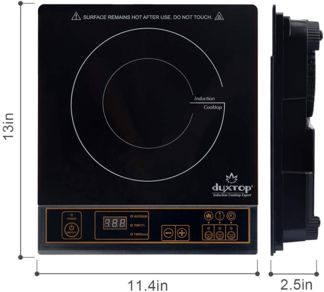 Touch Panel 1800w Induction Cooktop