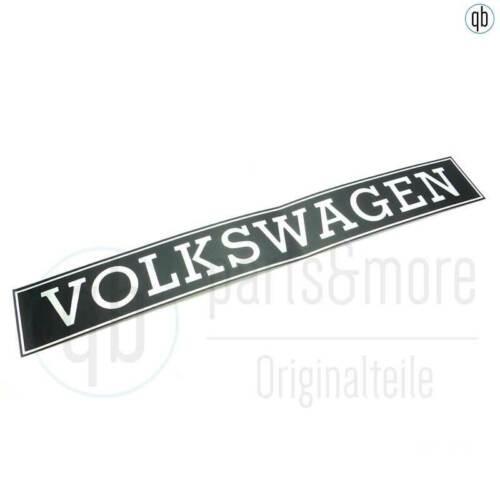 Originales de VW pegatinas furgoneta VW t3 80-85 plata negro portón trasero 245853685