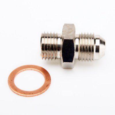 TRITDT Turbo Oil Feed Banjo Bolt Kit M12x1.25mm to 4AN MHI EVO 1~10 4G63T 4B11T