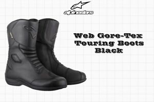 Alpinestars Mens SMX Plus Vented Boot Black, EU 45