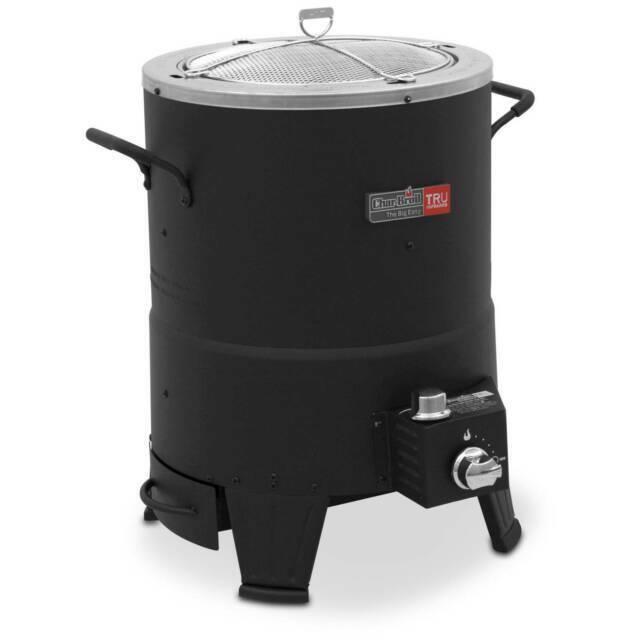 Oil Less Turkey Fryer Outdoor Infrared Propane Cooker Deep S