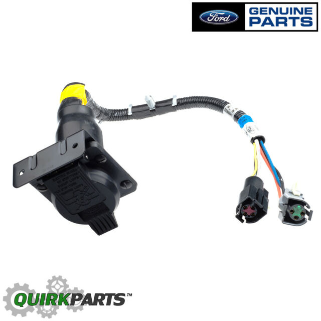 ford oem 7 pin connector trailer wiring harness feed f 6 tz 13 a 576 rh ebay com 7 pin wiring harness pinout 7 pin wiring harness 12 volt
