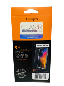 Apple-iPhone-11-Pro-Spigen-GLAS-tR-SLIM-HD-Tempered-Glass-Protector