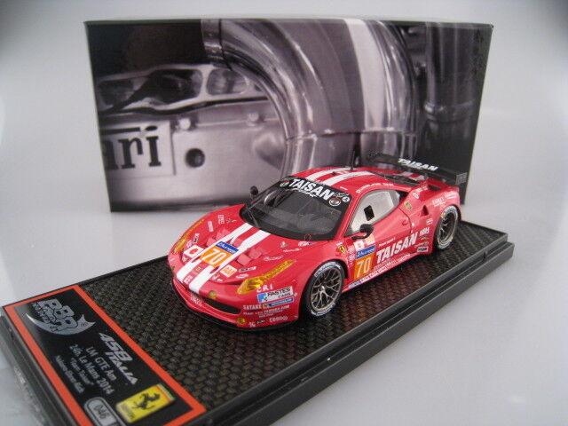 los últimos modelos Ferrari 458 italia italia italia LM gte, el 24h.  70 BBR limitado a 150 unidades 1 43 OVP  tienda de venta