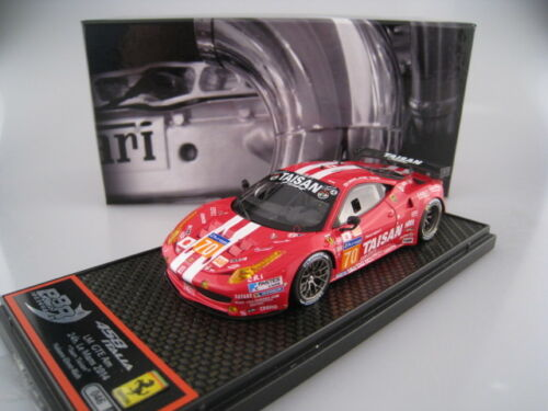 Ferrari 458 Italia LM GTE AM 24h #70  BBR  Limitiert auf 150 Stück 1:43 OVP