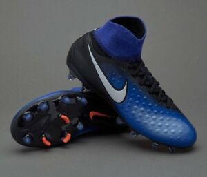 huge selection of eb9a4 7a1b8 Image is loading Nike-Magista-Obra-II-FG-JR-Football-Boots-