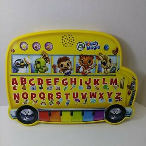 Leap Frog Touch Magic Learning Bus Alphabet Early Vocabulary