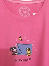 item 1 Life is Good Women`s T-Shirt- Sz L Classic Girl´s Night Out PINK  100% Cotton - Life is Good Women`s T-Shirt- Sz L Classic Girl´s Night Out  PINK 100% ... 0a7872c3a
