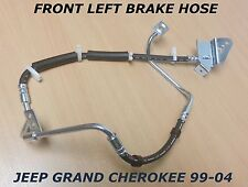 FOR JEEP GRAND CHEROKEE WJ WG FRONT OUTER LEFT SIDE BRAKE FLEX FLEXY HOSE LINE