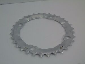 Nos-Shimano-Deore-Chainring-32T-104mm-Silver-Steel-Y1DS98010-New-Take-Off