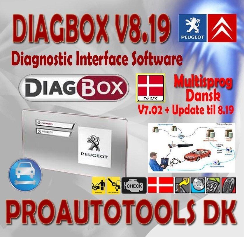Diagbox Dansk V7 02 + Update til – dba dk – Køb og Salg af Nyt og Brugt