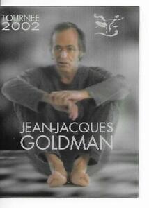 RARE-TICKET-BILLET-CONCERT-JEAN-JACQUES-GOLDMAN-LIVE-A-TOULON-FRANCE-2002