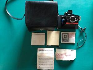 Polaroid-Colorpack-IV-Instant-Camera-Bag-Instruction-Booklet-Picture-Album-Mount