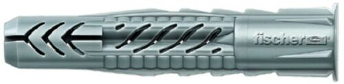 fischer Universaldübel UX aus Nylon mit Rand für fast alle Baustoffe