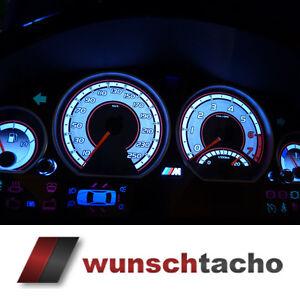 Tachoscheibe für Tacho BMW E46 *Speed *250 Kmh Benziner Top
