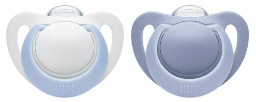 Boy 0-2 Months 2-Pack NUK Newborn Orthodontic Pacifiers