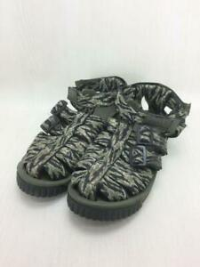 SHAKA Sandals 27cm Khk Size US 9 From Port Japan 0213