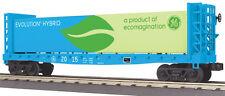 MTH Electric Trains Bulkhead Flatcar w/Lumber Load - 3-Rail - Ready to Run - Rai