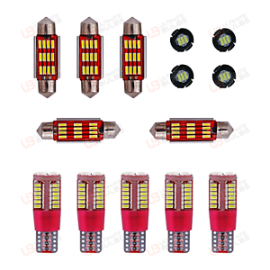 VW-SCIROCCO-III-LED-SMD-Interior-Light-Kit-CAN-BUS-10-Piece-UK-Stock-Fast-Post