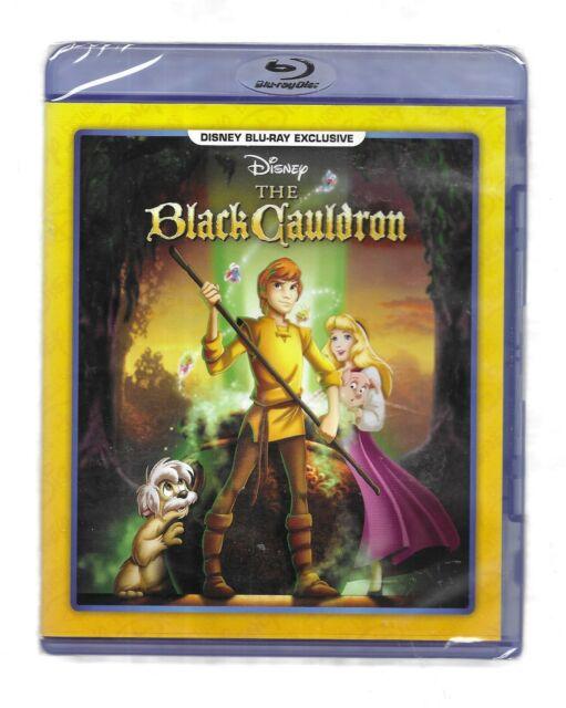 THE BLACK CAULDRON NEW BluRay Disney Movie Club