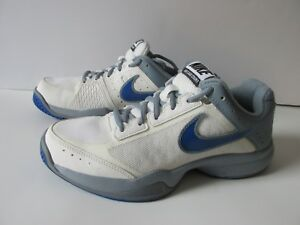 Details about Nike Air Cage Court White Gray 549891 Tennis Running Shoes Women's 8.5M