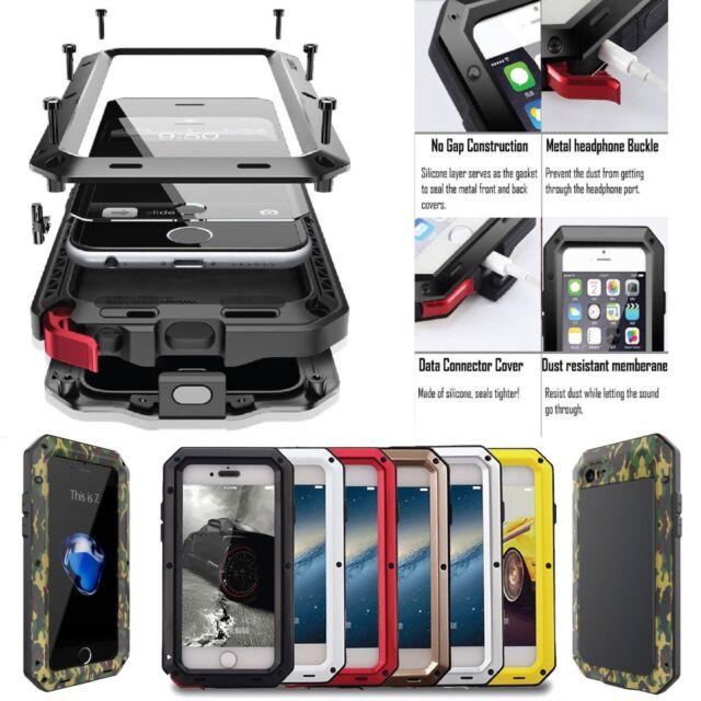 best service 8522f 3a93d U.S Aluminum Defender Shock Waterproof Metal Case Cover For Samsung Galaxy  Phone