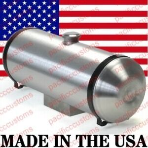 Spun Aluminum Fuel Tank Center Fill 2.5 Gallons 8 Inches X 12