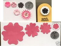 Small Blossom Paper Punch Quilling-scrapbook-cardcraft