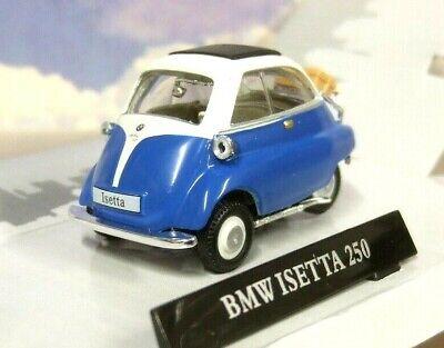 CARARAMA 1//43 DIECAST 1955-1962 BMW ISETTA MICROCAR//BUBBLE CAR IN RED /& WHITE