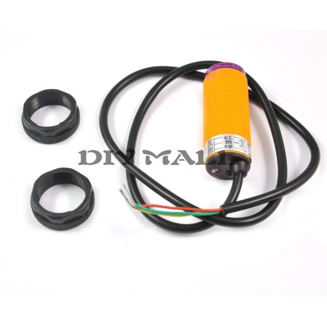 Smart Car E18-D50NK Infrared Obstacle Avoidance Sensor Proximity Switch 3-50cm