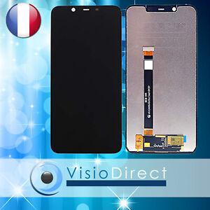 """Ecran complet Vitre tactile + LCD pour téléphone portable Nokia X7 6.18"""" NOIR"""