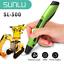 Indexbild 11 - SUNLU 3D Druck stift drei dimensional SL 300 PLA ABS Mehrfarben