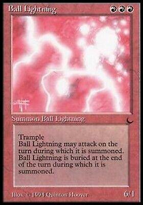 Beminnelijk Mrm English Ball Lightning Nm Mtg Magic The Dark Fijn Verwerkt