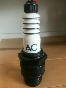 Vintage AC Spark Plug Co. - Promotional Spark Plug Shaped Plastic Squirt Bottle