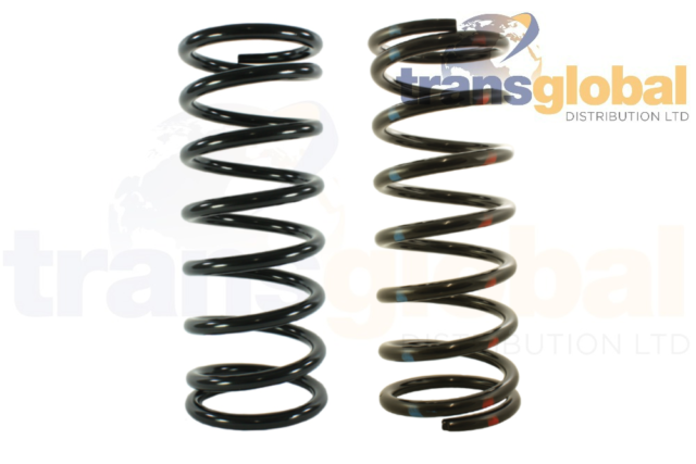 """Bearmach FRONT /& REAR Coil Springs for Land Rover Defender 90 2/""""//50mm LIFT"""