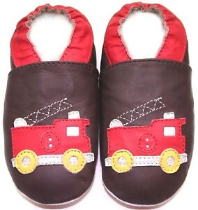 soft-sole-leather-baby-boy-first-walking-shoes-fire-truck-brown-12-18-m