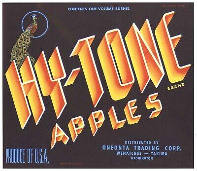 *Original* MISCHIEF Indian Girl Wenatchee Apple Crate Label NOT A COPY!