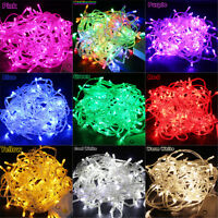 32.8-164FT 100-400LED Bulbs Party Christmas Decor Fairy String Lights Waterproof