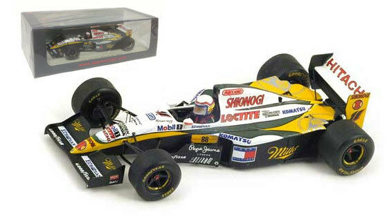 Spark S1671 lotus 109   11 British GP 1994-Alessandro Zanardi, échelle 1 43,