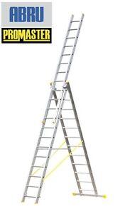 WERNER 12 RUNG 3.5m PROMASTER REFORM COMBINATION LADDER 7253518