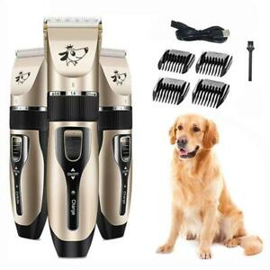 Electric-Pet-Dog-Hair-Trimmer-Grooming-Clippers-Cat-Hair-Cutter-Shaver-USB-Kit