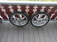2012 Tomos A55 ST 1.5 x 16 Front & Rear Wheel and Tire Set + Brakes!