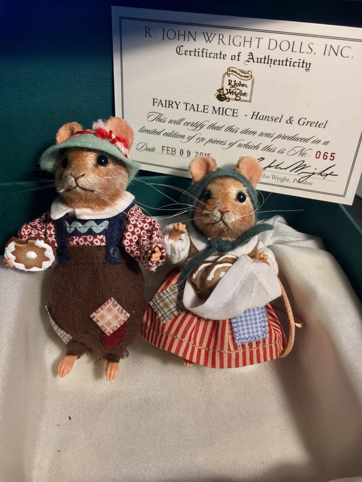 R john wright mice - Hansel & Gretel Fairy Tale Mice