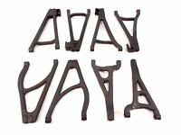 NEW TRAXXAS 1/10 SUMMIT COMPLETE SET OF ARMS A-ARMS FRONT AND REAR ADJUSTABLE