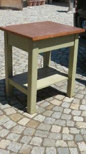 Gartentisch Alt.Details Zu 4 16 619 Tisch Küchentisch Beistelltisch Gartentisch Alt