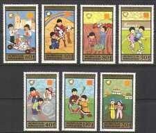 Mongolia 1987 Football/Go Cart/Rocket/Games 7v n20993